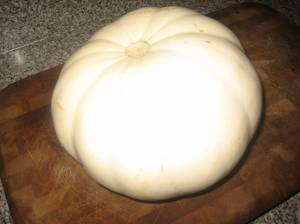 What Do You Do With A White Pumpkin?
