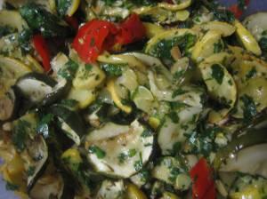 Roasted Squash & Zucchini