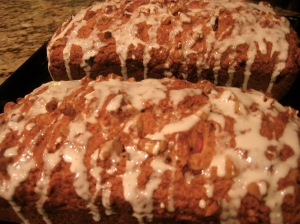 Cranberry Orange Walnut Quickbread