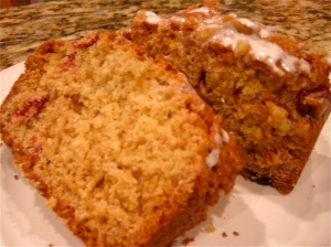 Cranberry Orange Walnut Quickbread 2