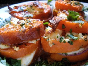 Sweet Potato, Red Onion & Cotija