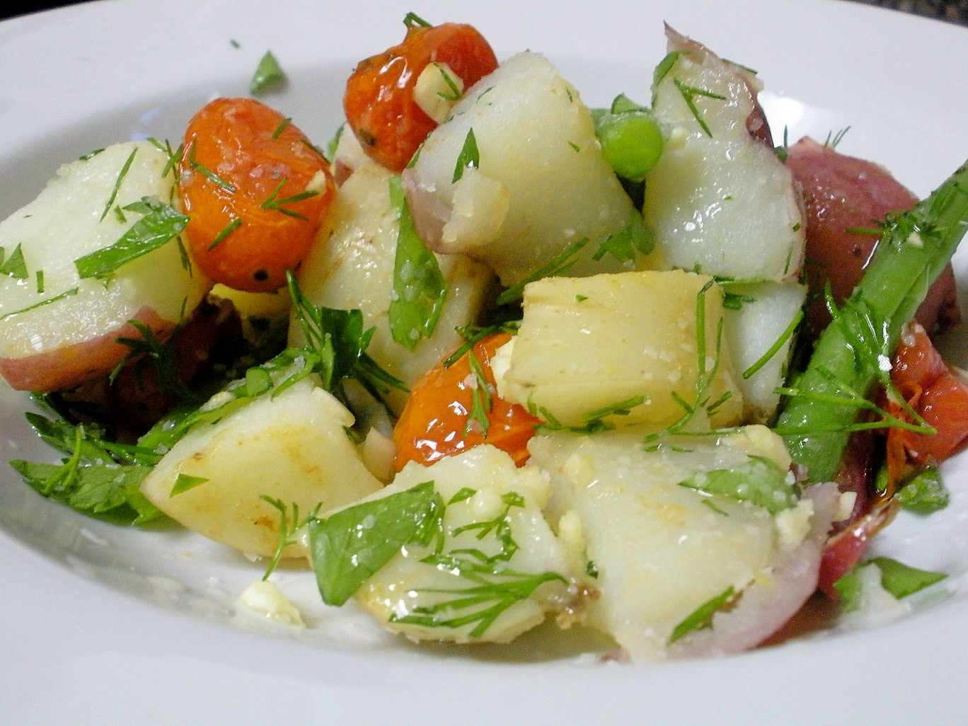 Potato & Green Bean Salad