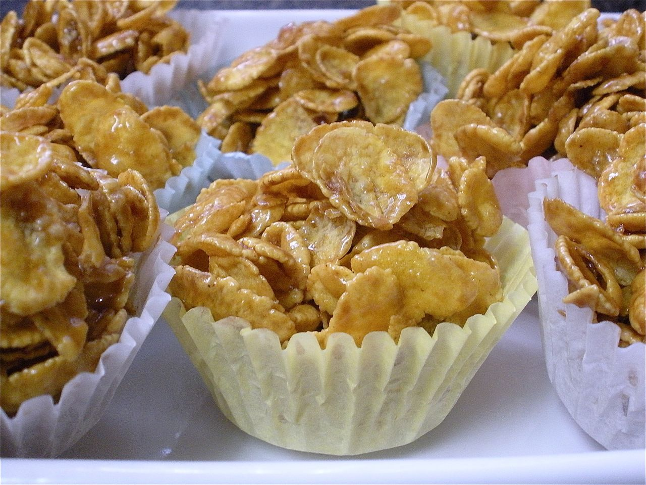 Crispy cakes recipe golden syrup