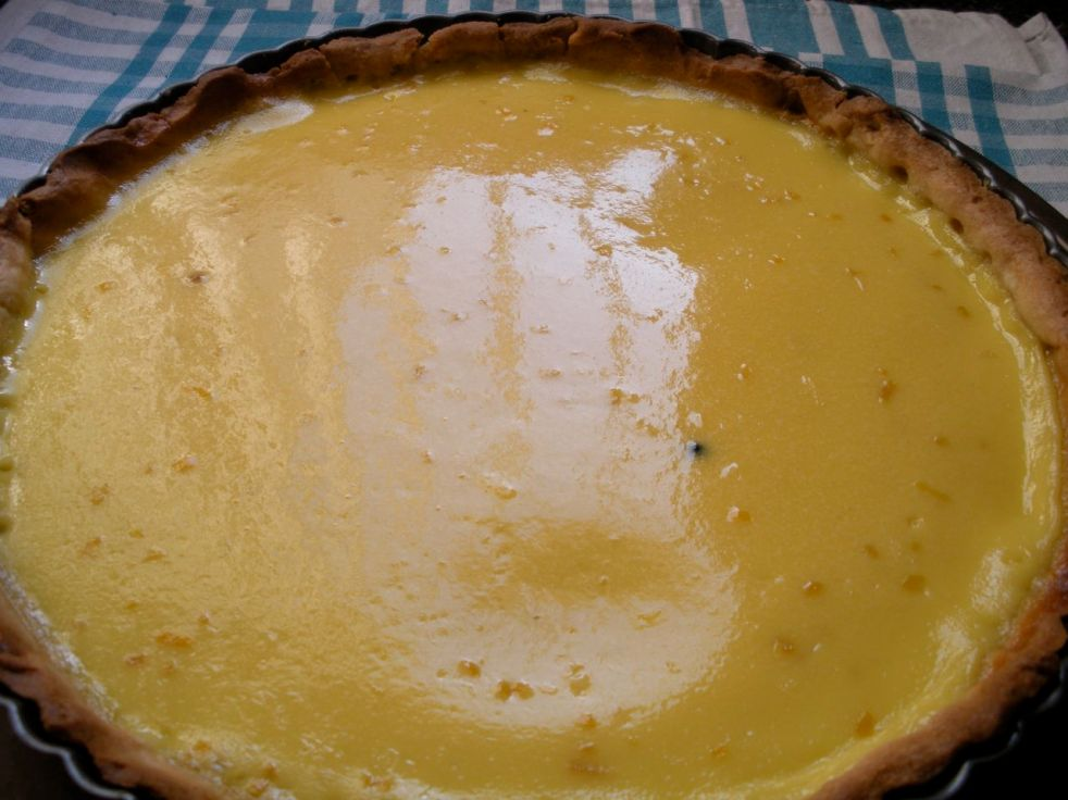 Meyer lemon tart-Duo Dishes
