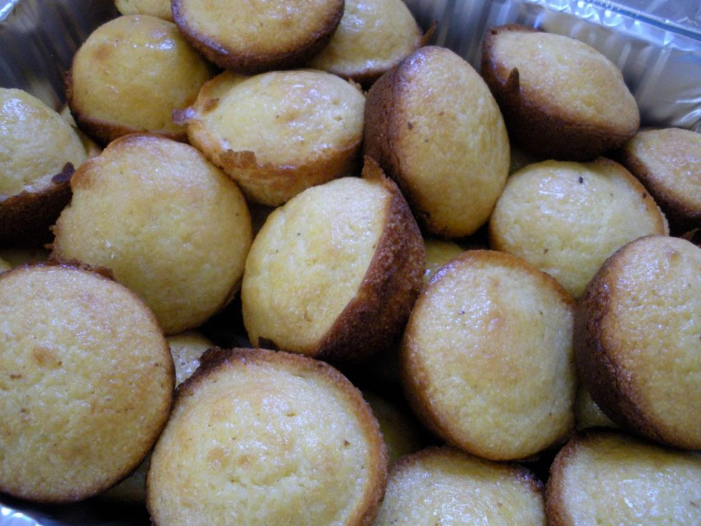 Cornbread muffins-Duo Dishes