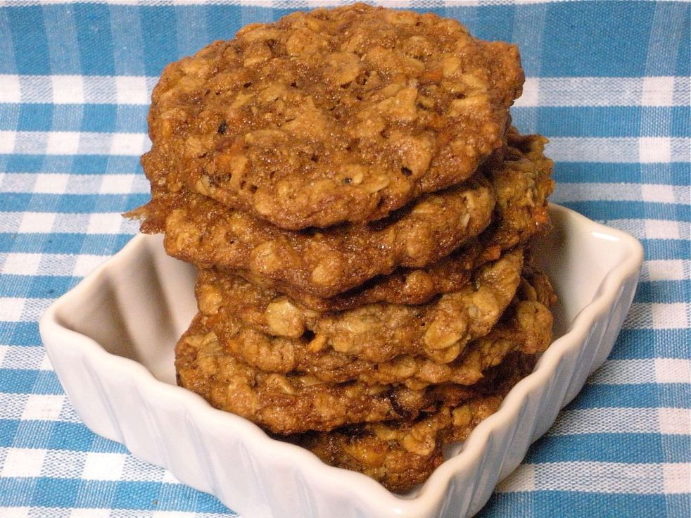 Peanut Butter Apple Cookies-Duo Dishes