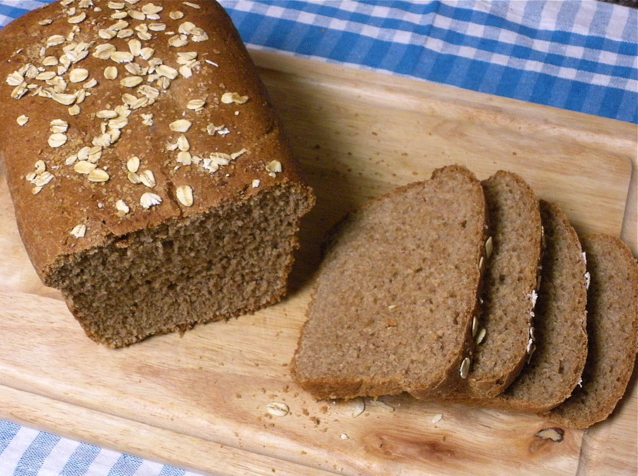 Maple Cinnamon Wheat Bread-Duo Dishes