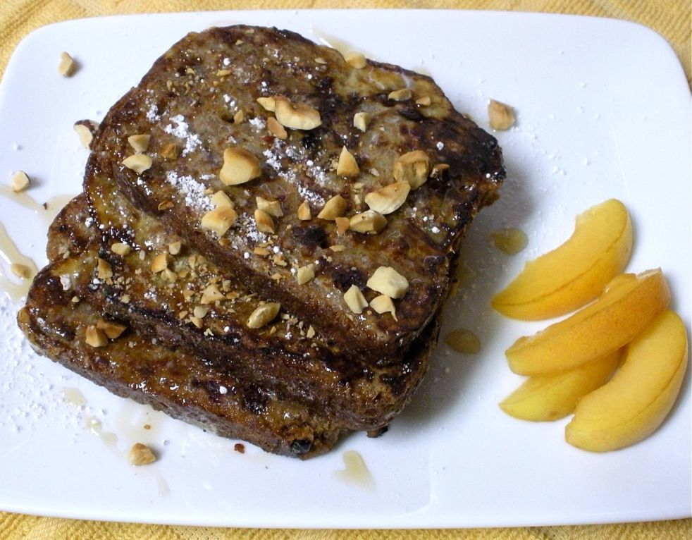 Cinnamon Cranberry French Toast-Duo Dishes
