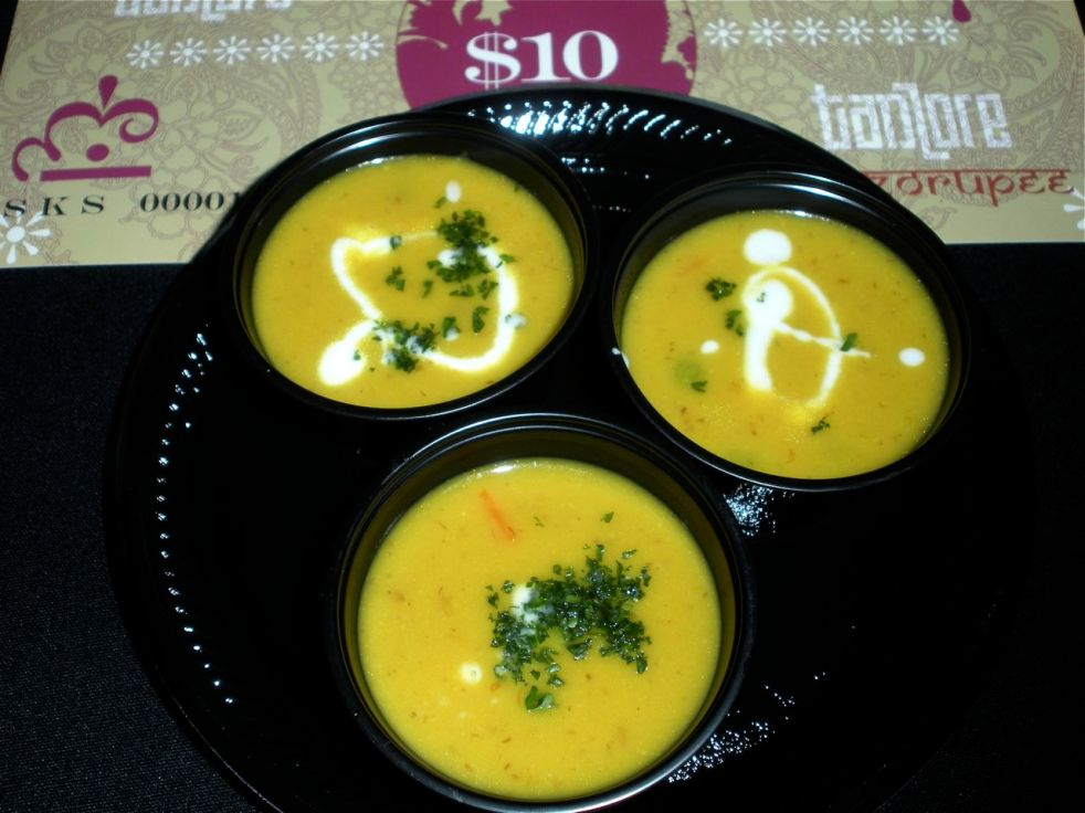 Apple Lentil Soup-Duo Dishes