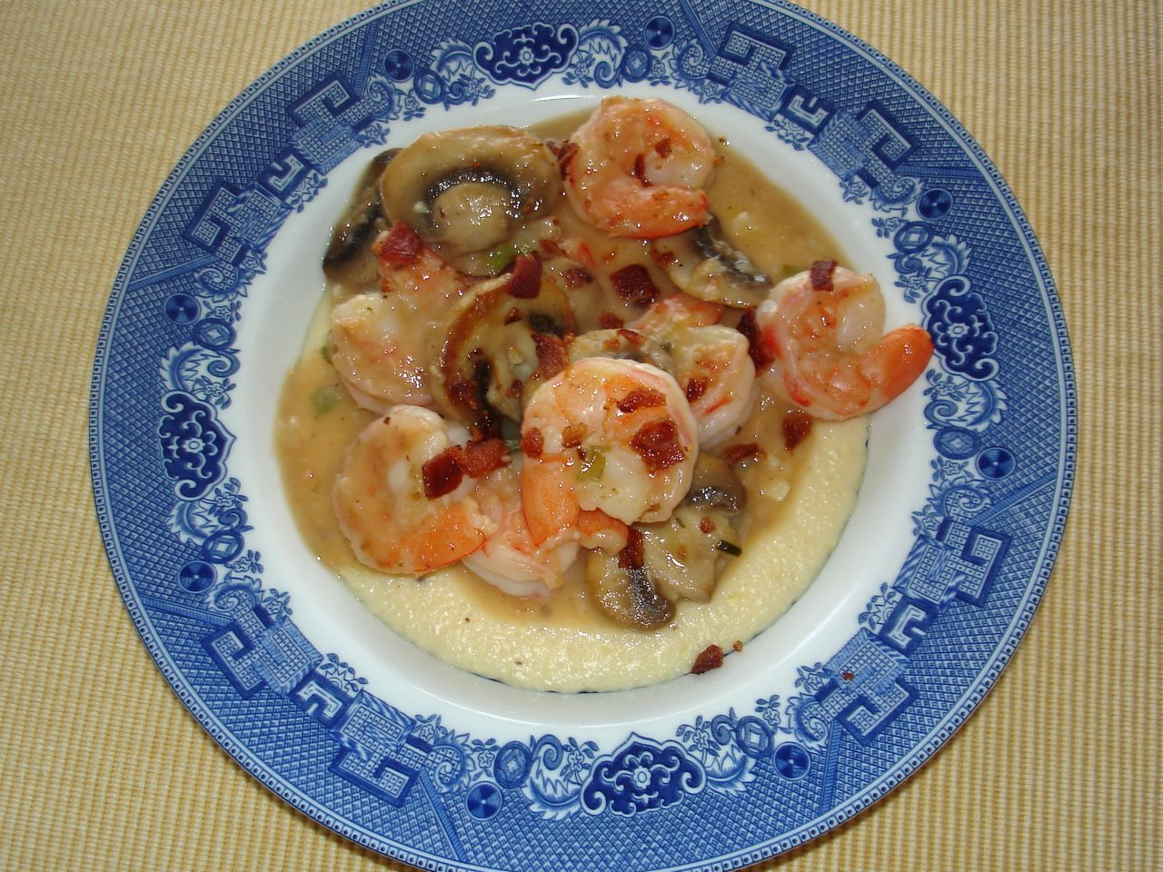 Shrimp & Grits-Duo Dishes
