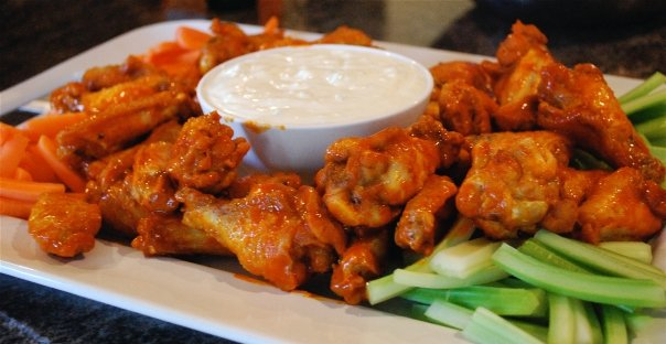 Hot wings-Duo Dishes