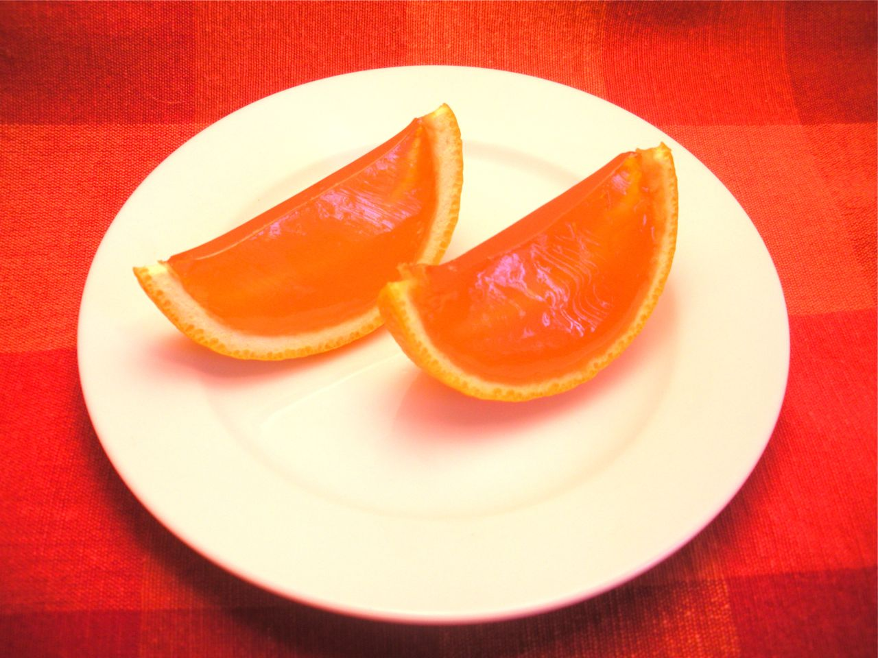 Orange Slice Jello Shots-Duo Dishes