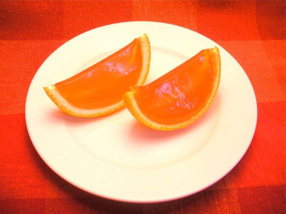 Orange Slice Jello Shots-Duo Dishes