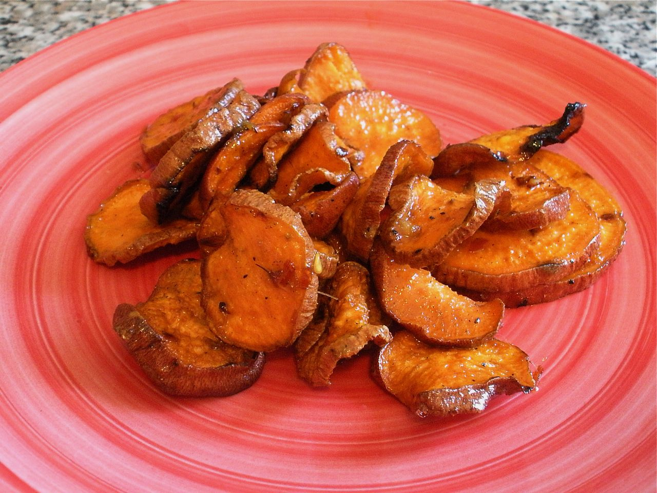 Spicy Grilled Sweet Potatoes-Duo Dishes