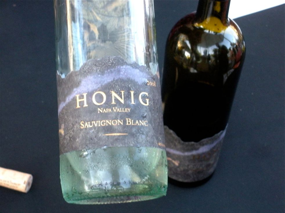 The favored white wine of the night-Honig!