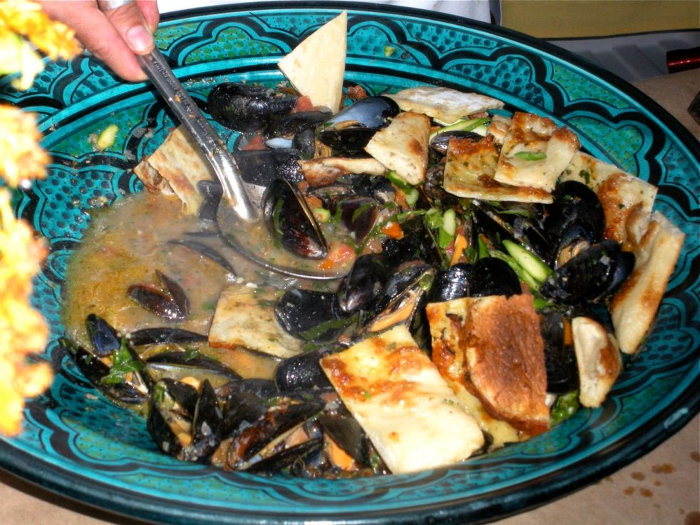 Pace:  Mussels