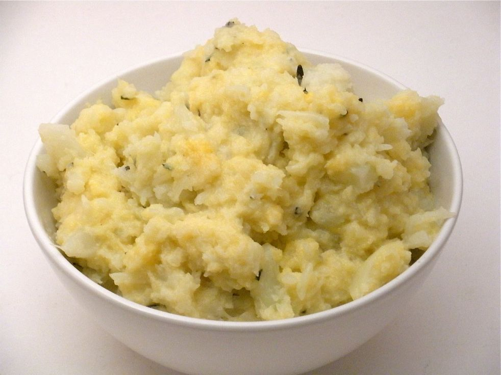 Mashed cauliflower-Duo Dishes