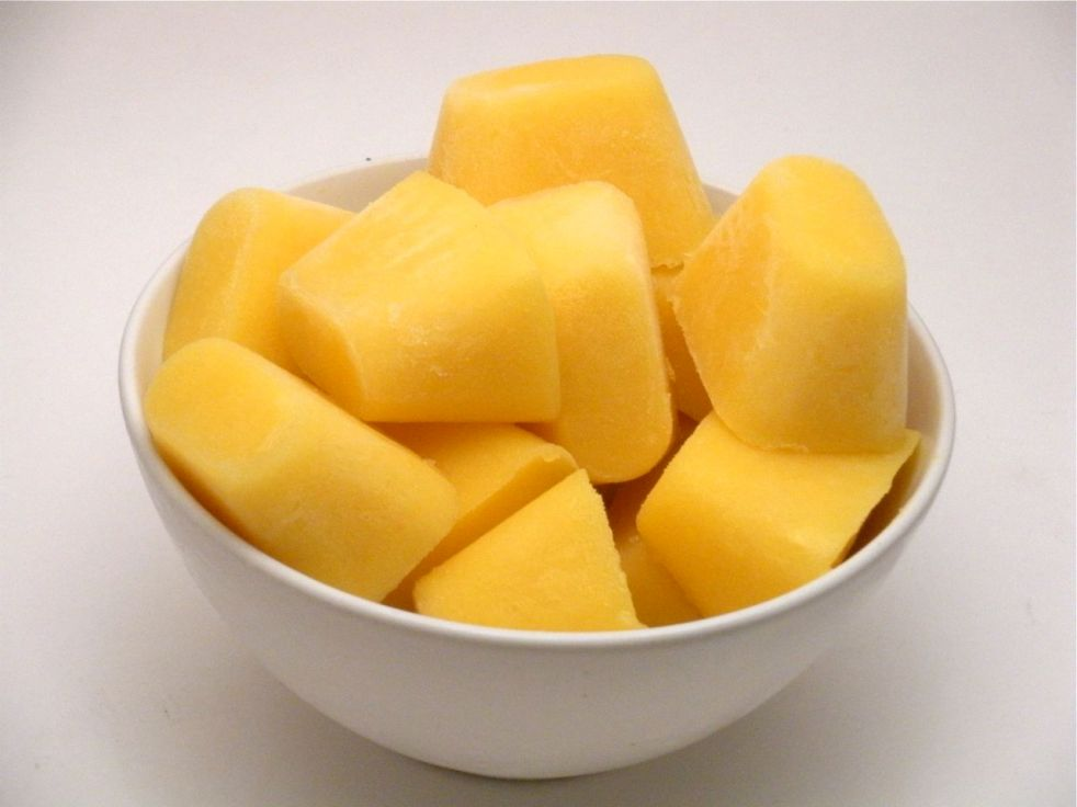 Pineapple Mango Cubes-Duo Dishes