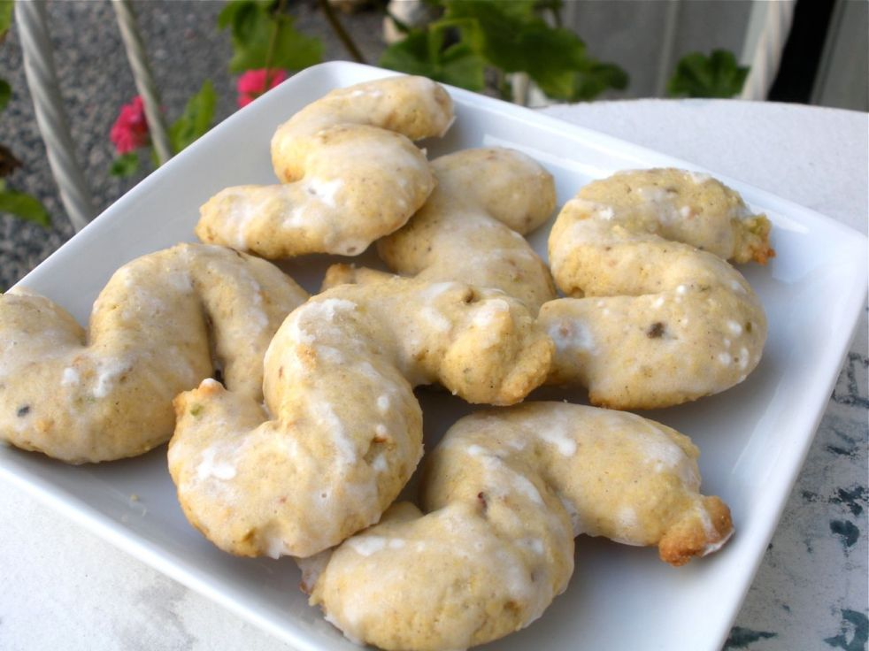 Lemon Polenta Cookies-Duo Dishes