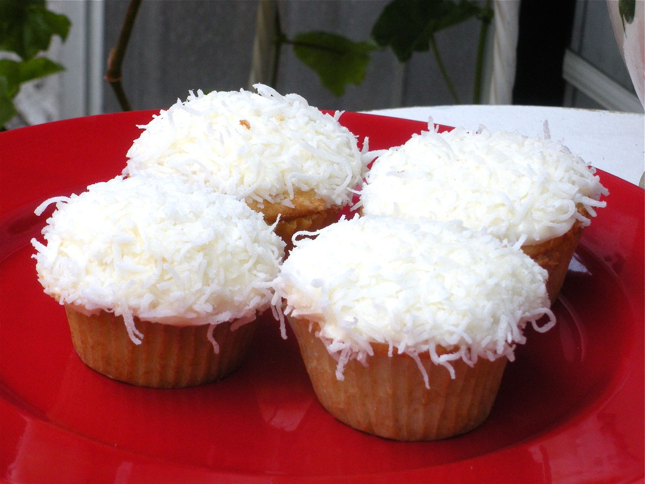Coconut Cupcakes-Duo Dishes