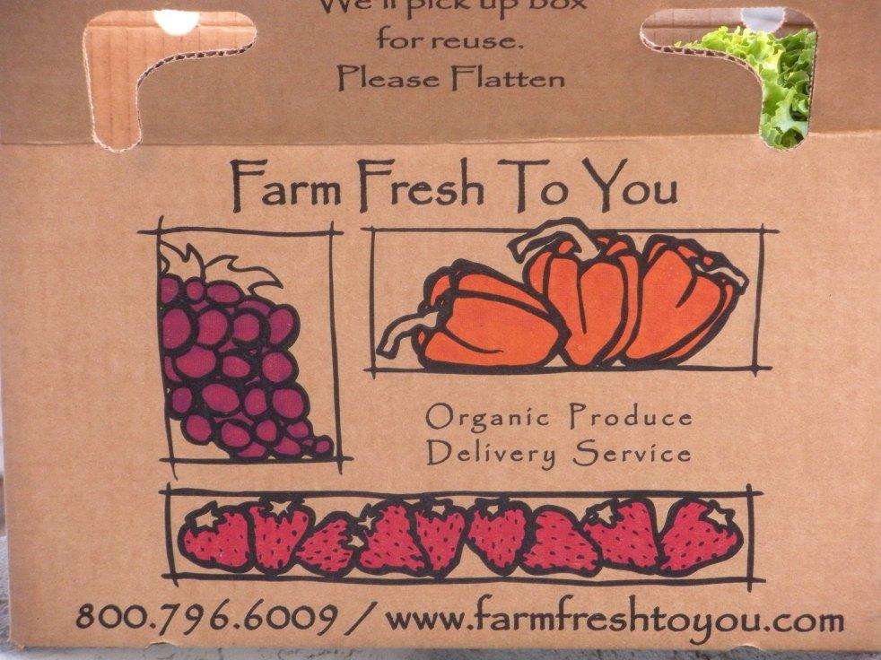 Farm Fresh box-Duo Dishes