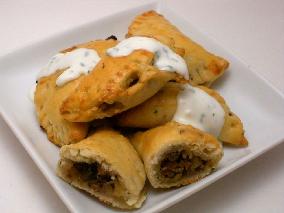 Beef & Raisin Empanada-Duo Dishes