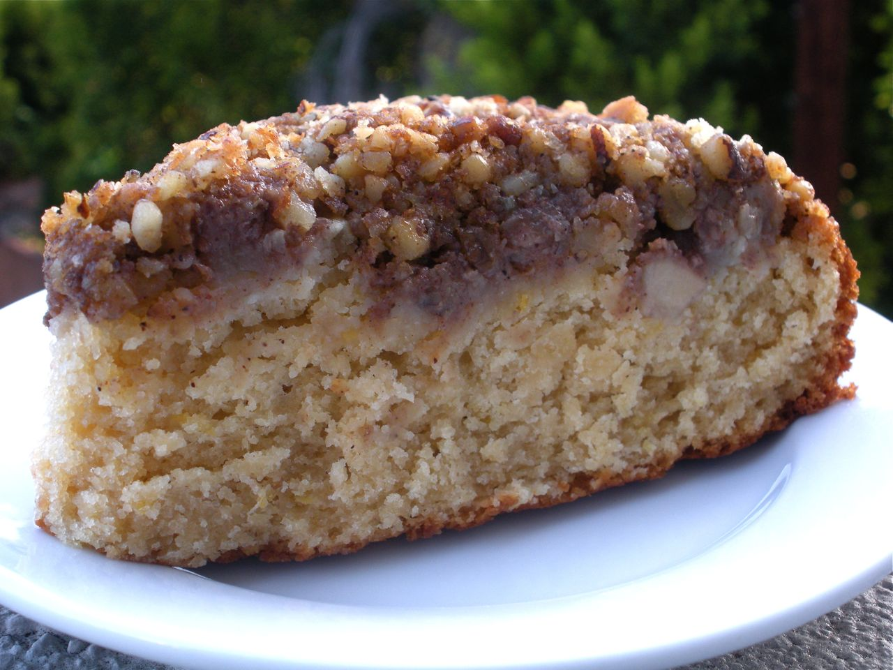 Pear Walnut Coffee Cake - Duo Dishes