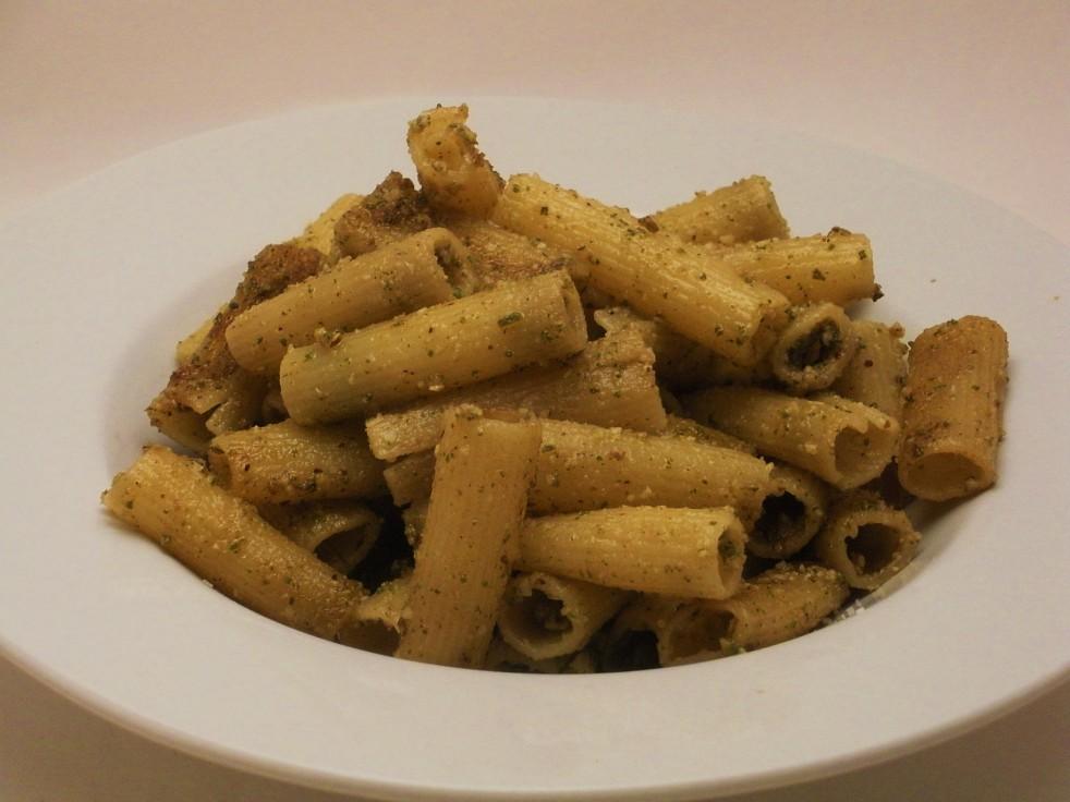 Walnut Sage Pesto Pasta-Duo Dishes