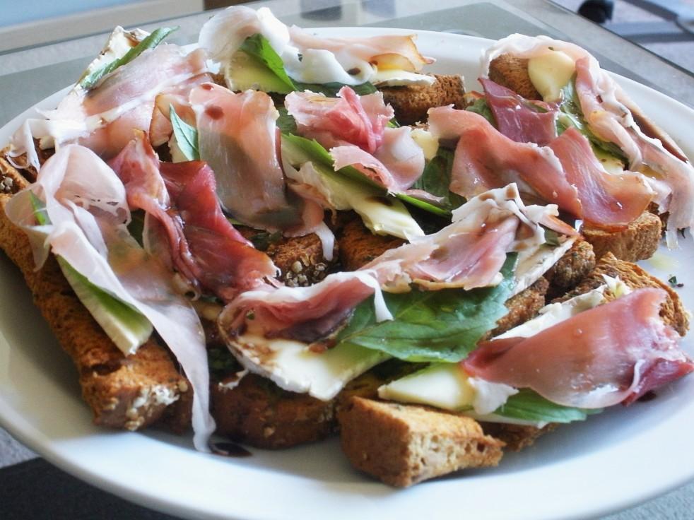 Prosciutto & Brie Breadsticks-Duo Dishes