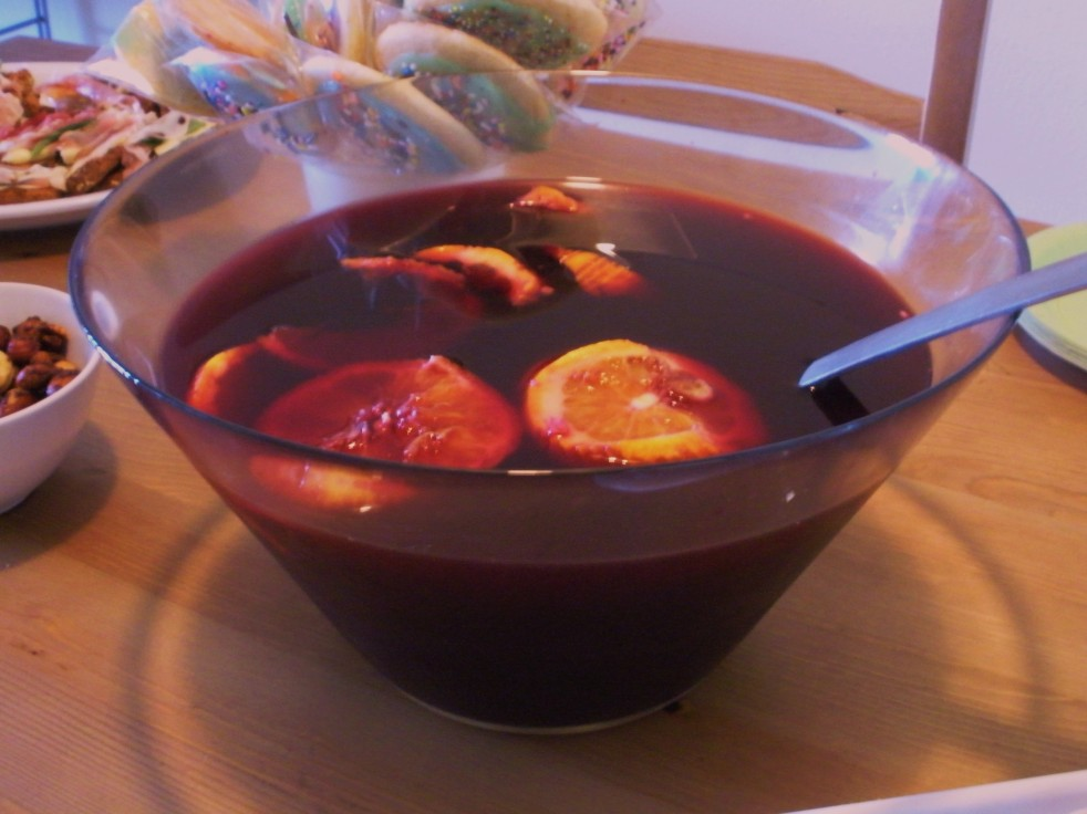 Sangria-Duo Dishes