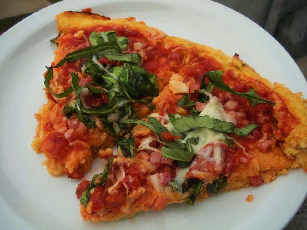 Pancetta Arugula Sun-dried Tomato Pizza-Duo Dishes