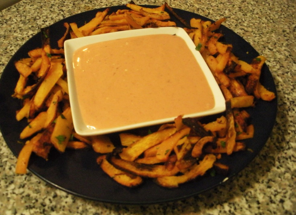Tangerine fries-Duo Dishes