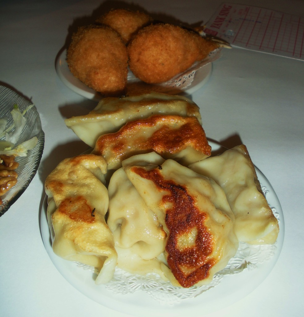 Wontons & crab-Duo Dishes