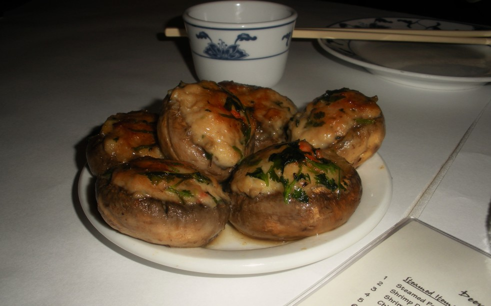 Stuffed mushrooms-Duo Dishes