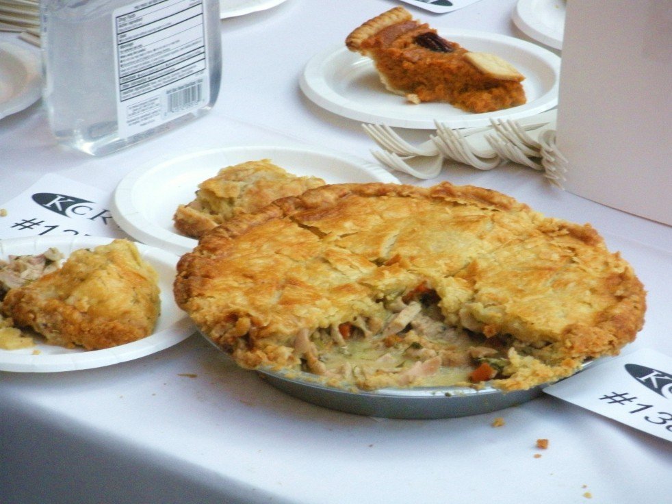 Tarragon Chicken & Grape Pot Pie-Duo Dishes