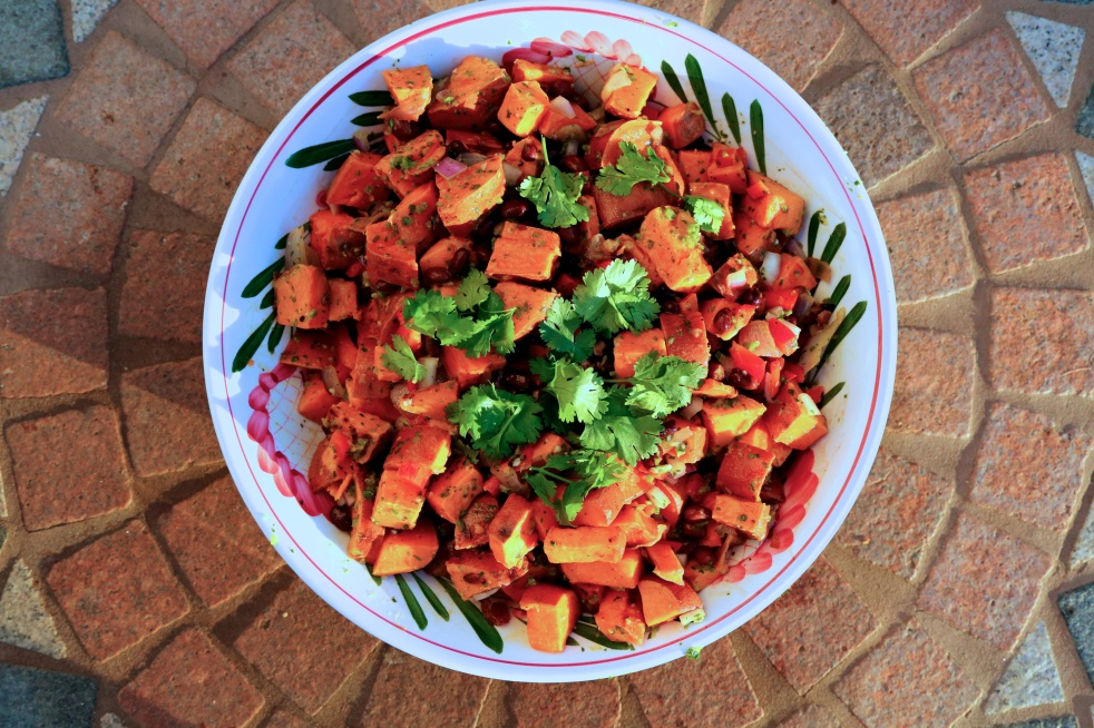 Sweet Potato Salad - The Duo Dishes